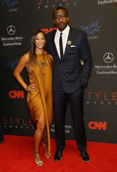 Alexis Welch and Amare Stoudemire