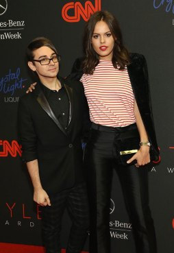 Atlanta DeCadenet and Christian Siriano