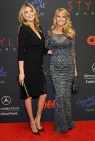 Kate Upton and Christie Brinkle