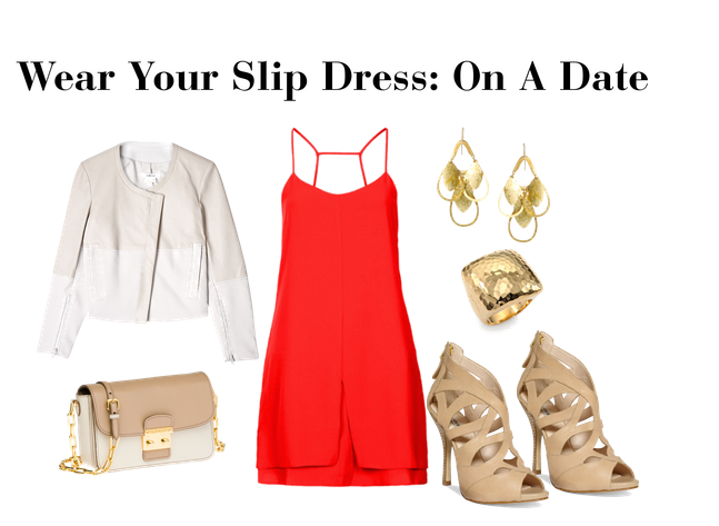 Date Slip Dress