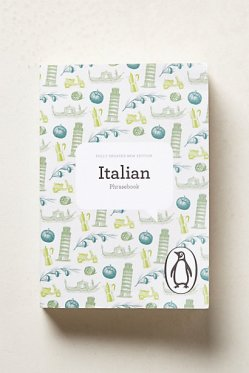 Italian Phrasebook, $10 Anthropologie