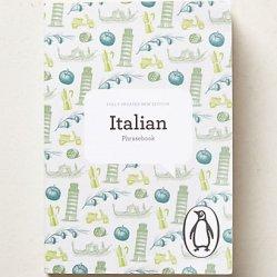 Italian Phrasebook, $10 Anthropologie