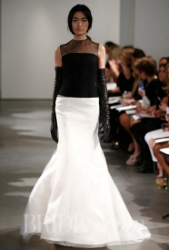 Vera Wang mermaid gown