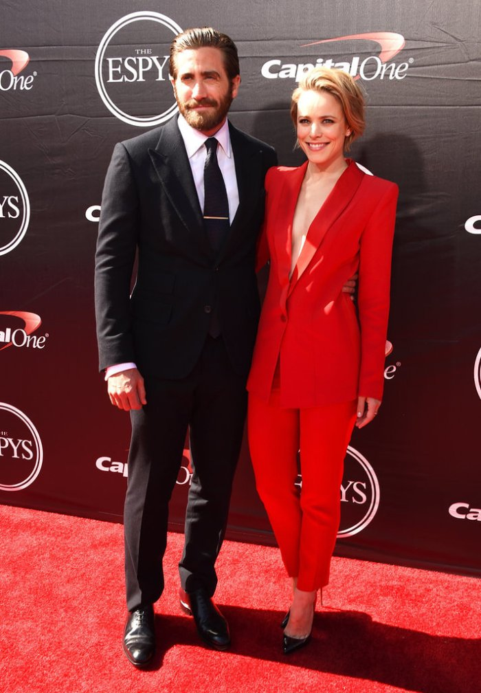 Rachel-McAdams-Jake-Gyllenhaal-ESPYs-2015