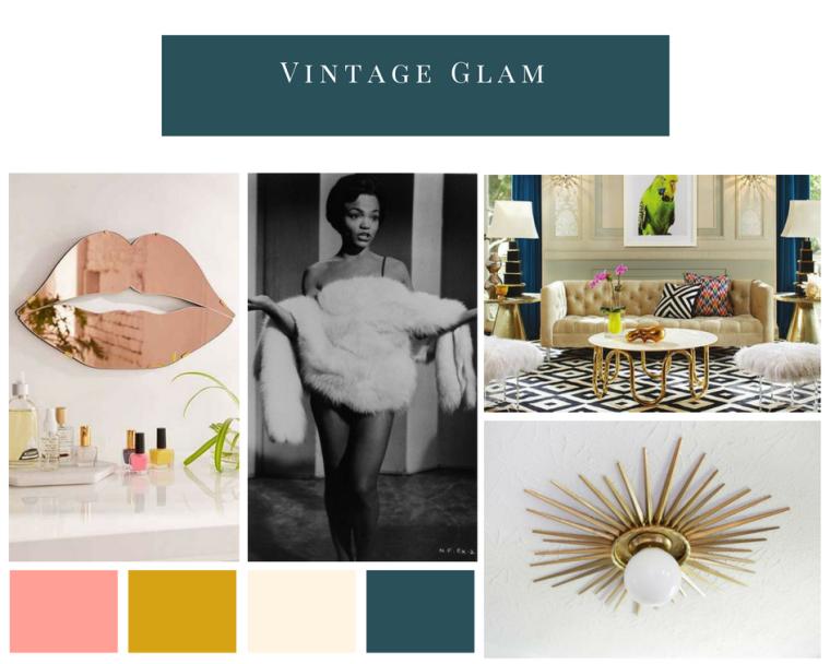 Moodboard_ Vintage Glam